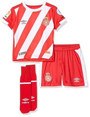 Girona F.C. 90088 Minikit 1ª Equipación, Unisex bebé, Rojo, 2 años