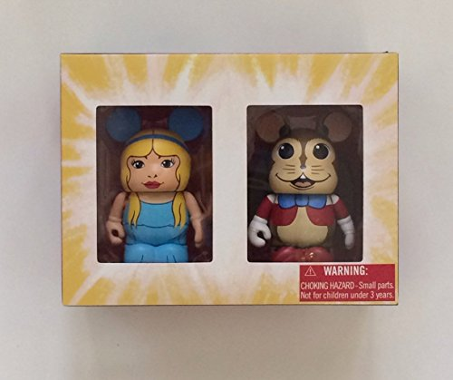 Disney Vinylmation Silly Symphonies D23 2013 Exclusives Flying Mouse & Fairy Figura