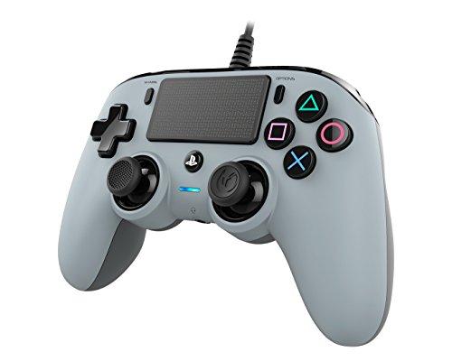 Oferta de Nacon - Mando Compacto PS4, Color Gris
