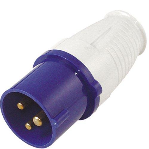 #0618 Campingstecker Euro Stecker CEE 3-polig für 230V, bis Maximalstrom 16A • CEE mit Schutzkontakt 3-polig Caravanstecker