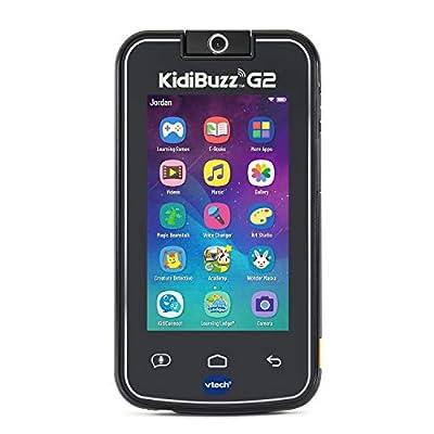 VTech KidiBuzz G2 Kids' Electronics Smart Device with KidiConnect, Black from VTech