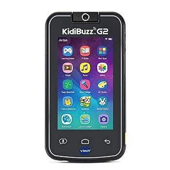 VTech KidiBuzz G2 Kids' Electronics Smart Device with KidiConnect Black