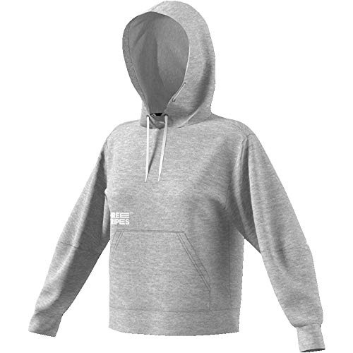 adidas Damen The Pack Hoodie grau M