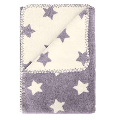 kids&me flauschige Babydecke aus Bio-Baumwolle - warme und kuschelige Baumwolldecke (kbA) für Herbst und Winter - Wärme und Geborgenheit für dein Baby – 100% Made in Germany - OEKO-TEX zertifiziert