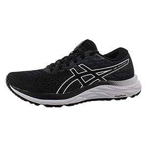 ASICS Women's Gel-Excite 7 Running Shoe, 8, Black/White
