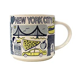 professional Starbucks was a series of 14 ounce mugs in New York City.
