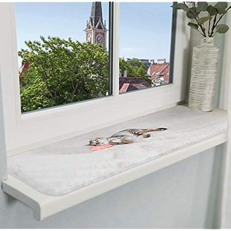 800mm Seitenabschlu/ß 150 mm greenteQ Fensterbank Innen Innenfensterbank Fensterbrett Marmor