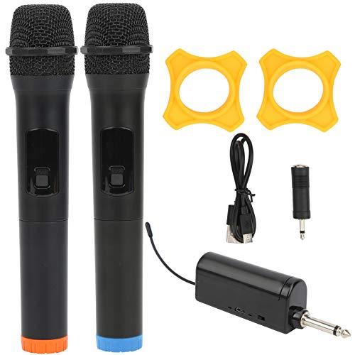 VGEBY Micrófono inalámbrico, Equipo de Video de Karaoke de micrófono de Mano Profesional
