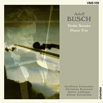 Busch: Violin Sonata & Trio