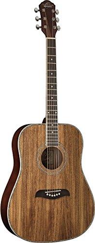 Oscar Schmidt 6 String OG2 Dreadnought Acoustic Guitar. Koa, Right, (OG2KOA-A)