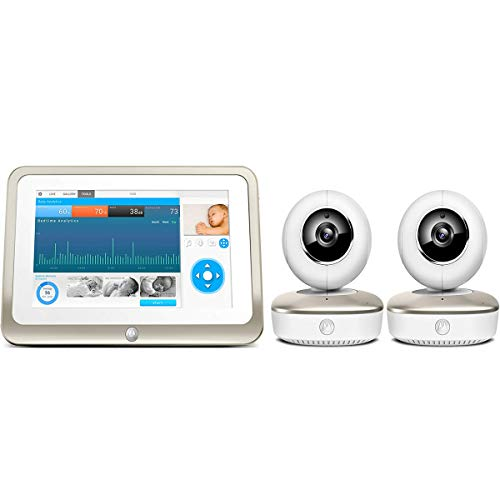 Motorola Smart Nursery 7 Dual Mode Baby Monitor with Touch Screen & Two