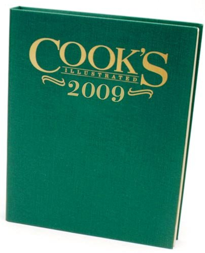 Cook's Illustrated 2009 - Book  of the Cook's Illustrated Annuals