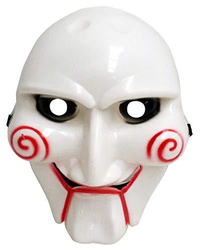 TY ausverkauft Fabulous die Säge Figur Clown-Gesichtsmaske Scary Gadgets für Halloween-Kostüm