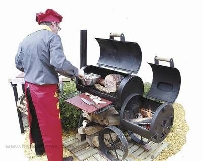 Original JOE''s Barbeque Smoker Grill Wild West