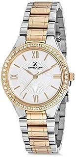 DANIEL KLEIN Premium Alloy Case Stainless Steel Band Ladies Wrist Watch - DK.1.12407-4