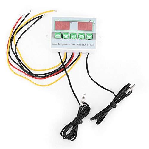 Controlador de temperatura digital Microordenador eléctrico Therm -50 ℃ 〜110 ℃ con sonda térmica impermeable(220V)