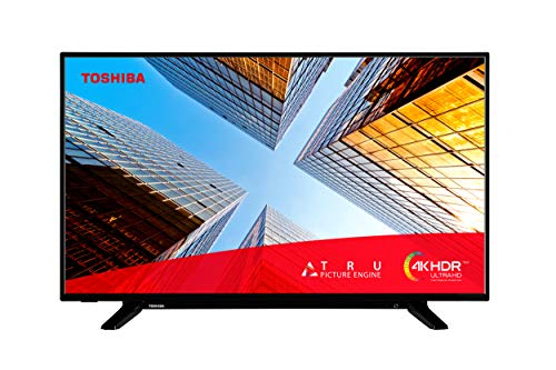 Toshiba 43UL2063DB 43-Inch Smart 4K Ultra-HD LED TV with Freeview Play (2020 Model)