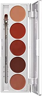 Kryolan 1215 Lip Rouge Set 5 Colors Makeup Palette LRS111