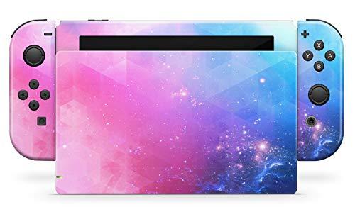 Skins4u Aufkleber Design Schutzfolie Vinyl Skin kompatibel mit Nintendo Switch Konsole & Controller Fantastic