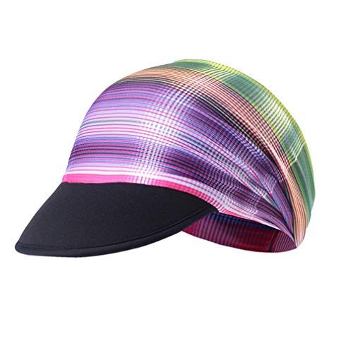 X-Labor Unisex Sonnenschutz Cap mit Schirm Schnell Trockend Bandana Kopftuch Fahrrad Radsport Kopfbedeckung Sommercap Motiv-G