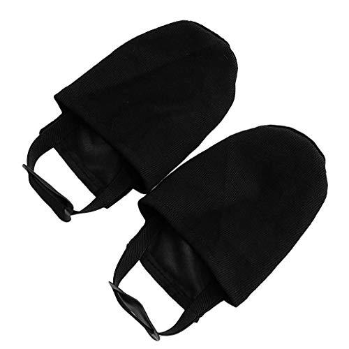 MagiDeal 1 Paar Anti-Rutsch Schuhüberzieher Überschuhe Überzieher Shoe Cover Hülle Schuhüberzug für Bowling-Schuhe