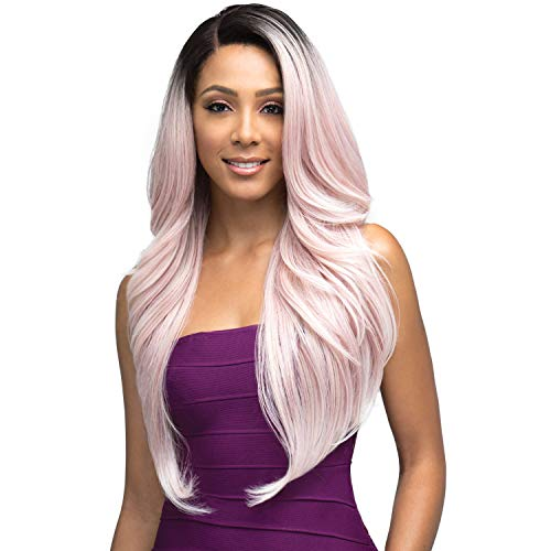 Bobbi Boss Synthetic Hair Lace Front Wig MLF320 Swiss Lace 13X4 Natural Hairline Penelope (1)