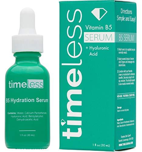 Timeless Skin Care Vitamina B5W/HYALU Electronic Acid Serum 30ML/1oz–authorised UK SELLER