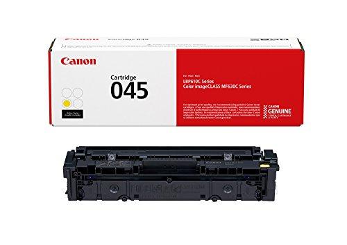 Genuine Toner, Cartridge 045 Yellow (), 1 Pack, for  Color imageCLASS MF634Cdw, MF632Cdw, LBP612Cdw Laser Printers - CANON 1239C001