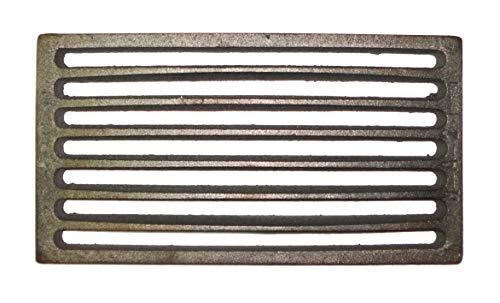 Griglia in ghisa per stufa e caminetto caduta cenere 148 x 275 mm. - K6849