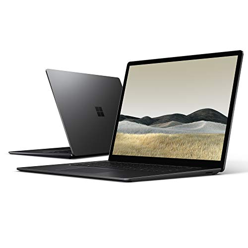 "Microsoft Surface Laptop 3, 13.5"", Core i5, RAM 8 GB, SSD 256 GB, Nero, Tastiera layout QWERTY Italiano"