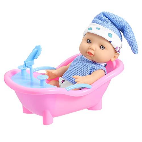 GAGAKU Baby Badespielzeug für Kinder ab 36 Monate, Puppen Badewanne