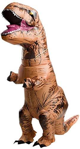 Echden Kostüm Aufblasbare Kostüme Tyrannosaurus Anzug Dinosaurier Kostüm Kind Karneval Party Dino Kostüm Männer Frauen(Kind)