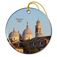イタリアサンアントニオ大聖堂パドヴァクリスマスオーナメントセラミックシート旅行お土産ギフト