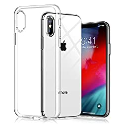 Newlike Silicone Protective Anti Shockproof Back Case Cover for iPhone XS