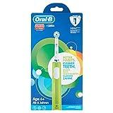 Oral-B Junior - Cepillo Eléctrico Recargable para Niños a Partir de 6 Años, Verde