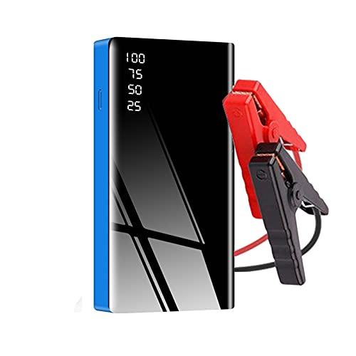 Arrancador para coche Cargador portátil de 12V para coche Puente de arranque multifunción Amplificador de batería de coche de emergencia Para cables de dispositivo de arranque Banco de energía portá