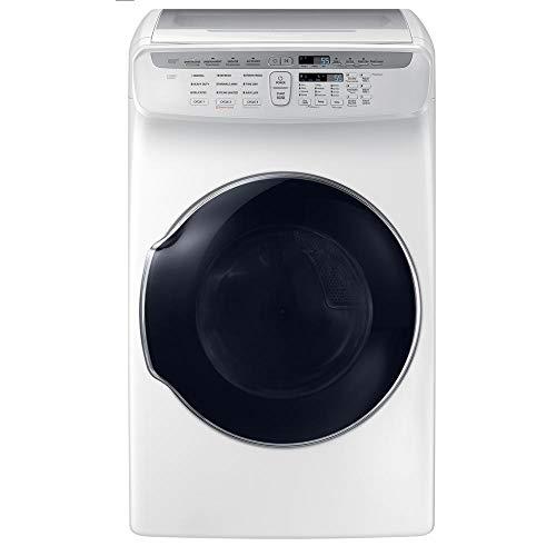 SAMSUNG 7.5 Cu. Ft. White FlexDry Gas Dryer