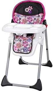 Durable Baby Trend Sit Right High Chair, Floral Garden by Baby Trend