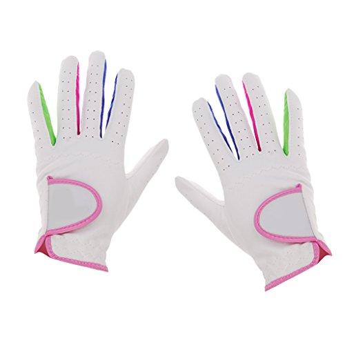 MagiDeal Kinder Jugendliche Golf Handschuhe, 1 Paar, atmungsaktiv Golf Sport Handschuhe - 14