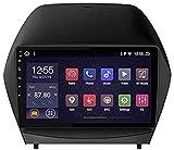 Navegación GPS para Hyundai Tucson IX35 2010-2013, Radio estéreo de Coche Android Double DIN Sat Nav 9 Pulgadas Pantalla táctil Multimedia