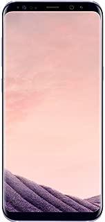 Samsung Galaxy S8 G950FD 64GB Orchid Gray, Dual Sim, 5.8 inches, 4GB Ram, GSM Unlocked International Model, No Warranty