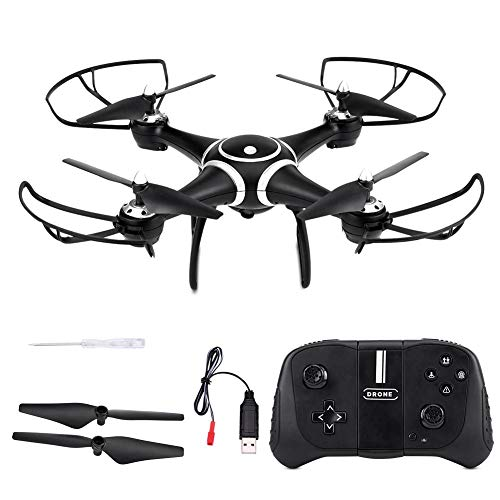 Bicaquu Headless Mode Drone Altitude Hold Quadcopter, Altitude Hold S7W Air Pressure S7W Quadcopter, WiFi Camera for Beginners Outdoor Remote Control(#4)