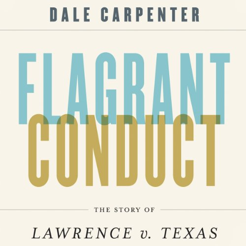 Flagrant Conduct audiobook cover art