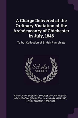 CHARGE DELIVERED AT THE ORDINA: Talbot Collection of British Pamphlets
