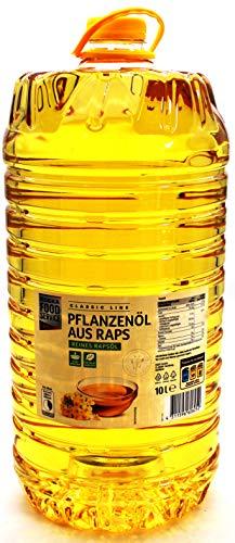 Öl Topkauf Pflanzenöl Rapsöl 10l PET Flasche