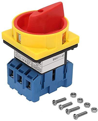 Interruptor wifi Interruptor de encendido de encendido de encendido de apagado de leva rotativa (40A) interruptor de interruptor de cambio de leva rotativo 40A / 63A interruptor de interruptor de la c