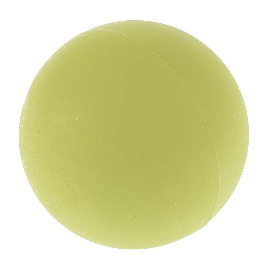 寂しい抗議効果的にchiwanji エクササイズ 筋膜リリース マッサージボール トレーニングボール ソフトボール ツボ押しグッズ 全4色 - 緑