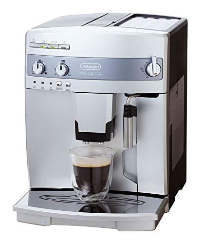 【エントリーモデル】デロンギ 全自動コーヒーメーカー マグニフィカ ミルク泡立て手動 シルバーESAM03110S