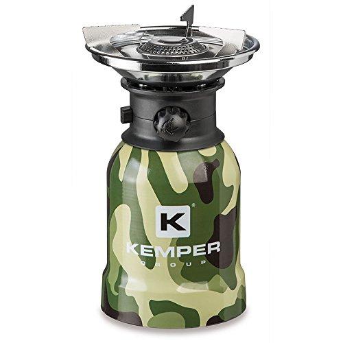 Kemper ke2008CMF RECHAUD DE Camping Camouflage, Multicolore, Taille Unique