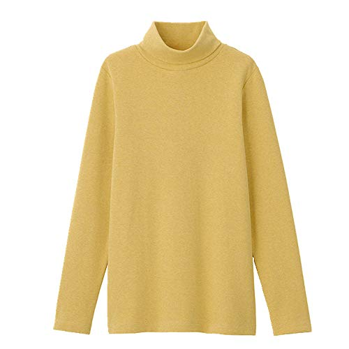 N\P Women's T-Shirt Long Sleeve Spring and Summer Yellow